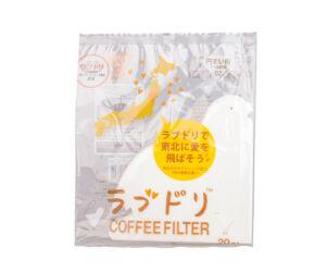 Hario Love Dori Loveripper papírszűrők V60-02 csöpögőhöz