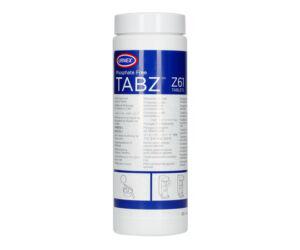 Urnex Tabz Z61 Tisztítótabletta Kávégép Portafilter Tisztításához 120 db tabletta