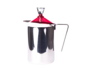 GAT Fantasia Cappuccino 600 ml kézi tejhabosító piros