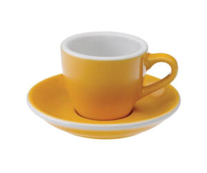 Loveramics egg sárga 80 ml eszpresszó csésze és csészealj