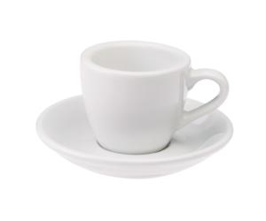 Loveramics egg fehér 80 ml eszpresszó csésze és csészealj