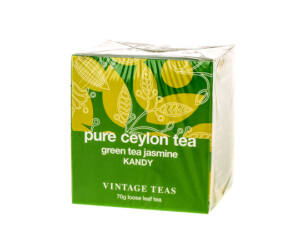 Vintage Pure Ceylon Zöld Szálas Tea Jasminnal 70 gr