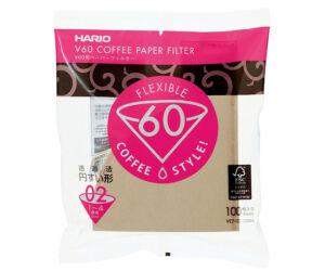 Hario Misarashi barna papír szűrők V60-02 100 darab