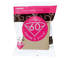 Hario Misarashi barna papír szűrők V60-01 100 darab