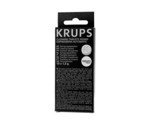 Tisztítótabletták kávéfőzőkhöz Krups XS 3000 10 db tabletta