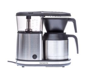 Bonavita 5 csészés rozsdamentes acél kancsós Filterkávé főző