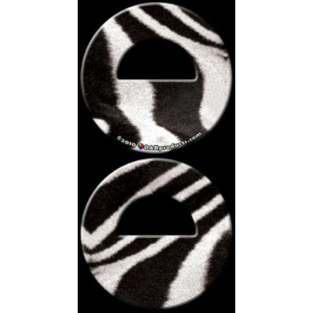 Round Smile flair nyitó Zebra