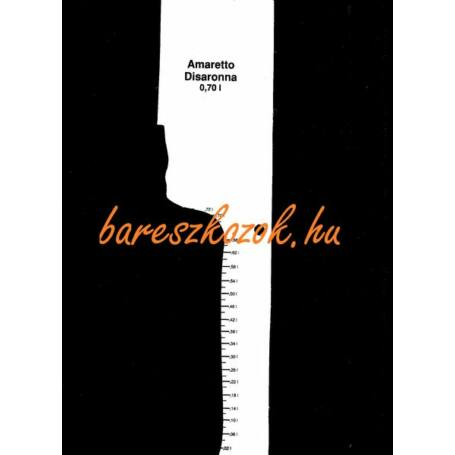 Standoló lap Amaretto Disaronno likőr 0,7L