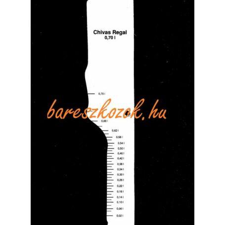 Standoló lap Chivas Regal whisky 0,7L