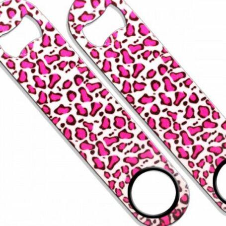 Flair nyitó Glitter Pink Leopárd