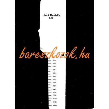 Standoló lap Jack Daniel's Whiskey 0,7L