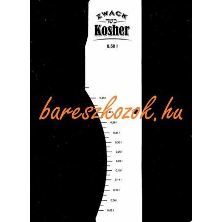 Standoló lap Kosher pálinka 0,5L