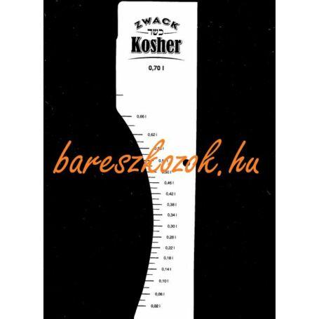 Standoló lap Kosher pálinka 0,7L