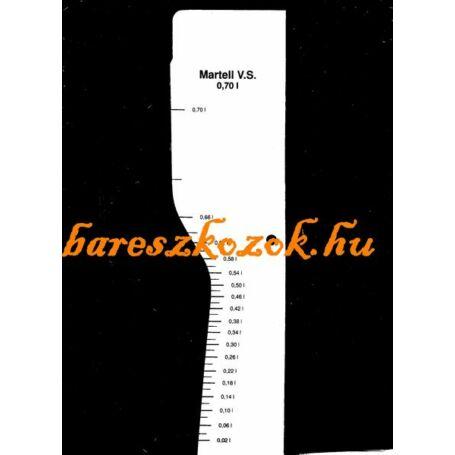 Standoló lap Martell V.S. 0,7L