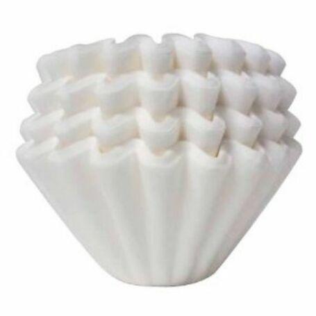Fehér filterpapír kalitához 100db/cs