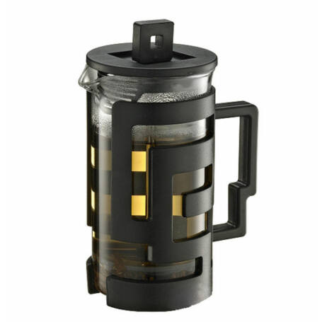 French press 0,8L fekete