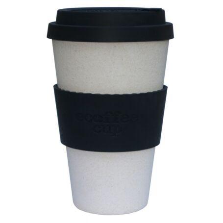 Ecoffee Cup hordozható kávéspohár-Black Nature 400ml