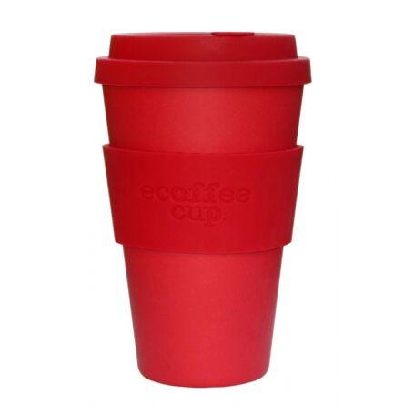 Ecoffee Cup hordozható kávéspohár-Red Dawn 400ml