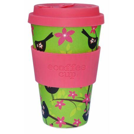 Ecoffee Cup hordozható kávéspohár-Widdlebirdy 400ml