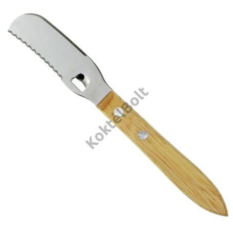 Fanyelű spirálvágó kés