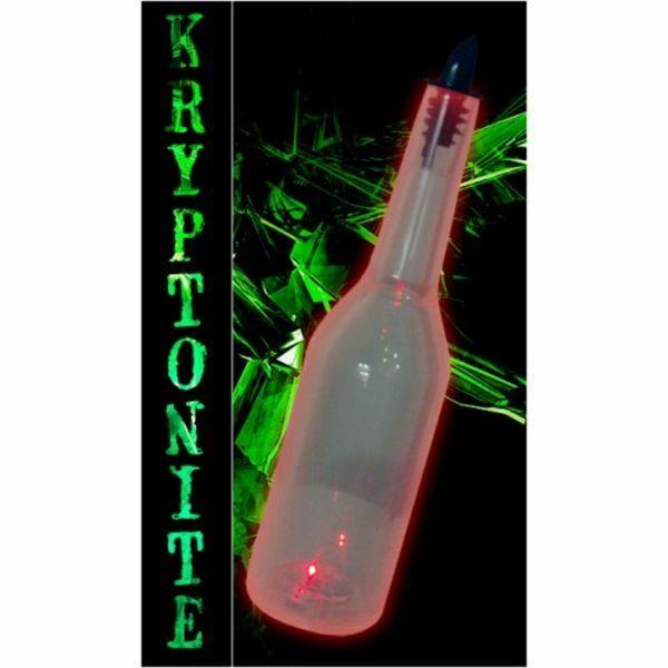 Kryptonite törhetetlen flair üveg átlátszó világítós 0,7L