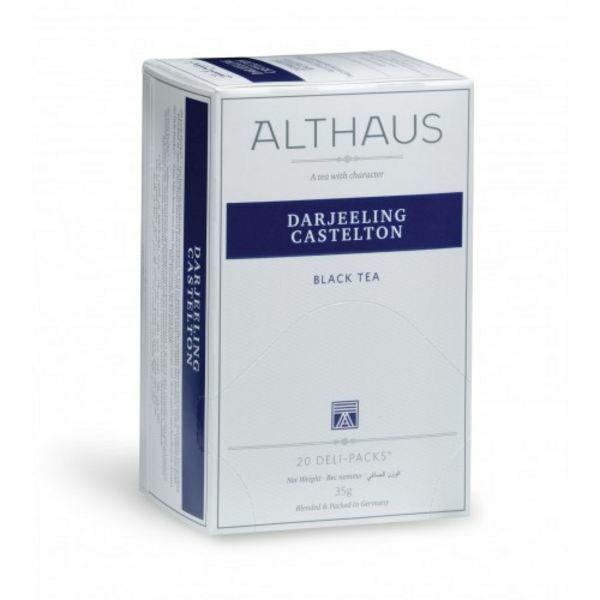 Tea Althaus Darjeling castleton deli pack 20 filter