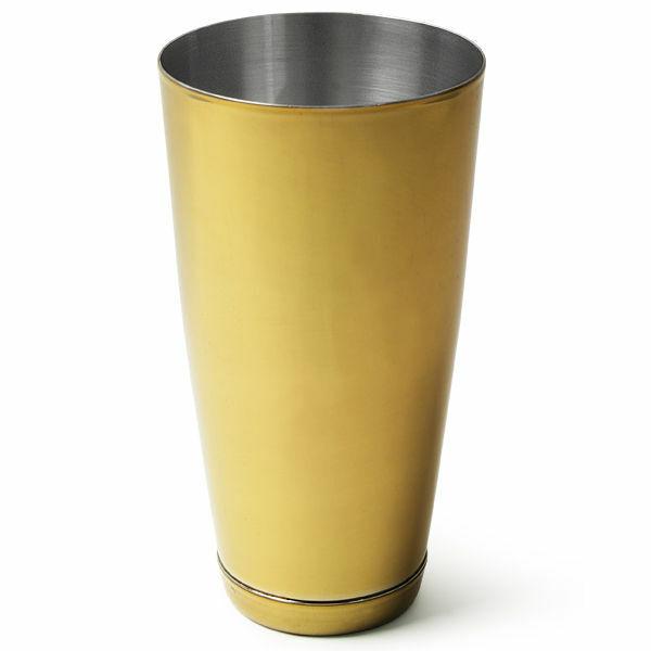 Boston koktél shaker arany