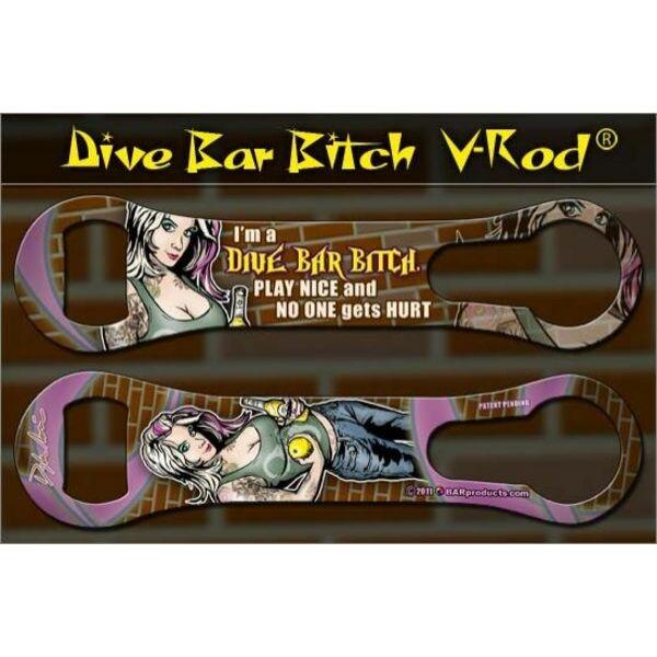 Flair nyitó metal pour kiszedővel Dive Bar Bitch