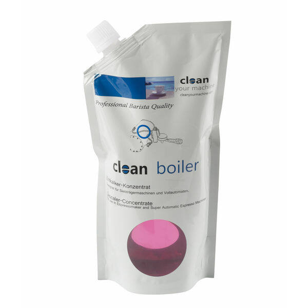 Clean Kávégép gőzkazán tisztító vízkőoldó folyadék 500ml