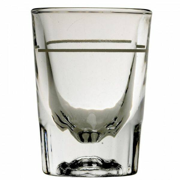 Barista shot pohár mércézett 2oz