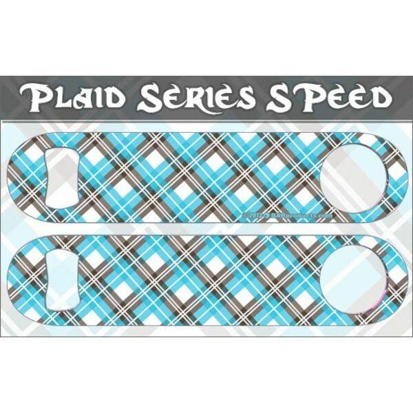 Flair nyitó Kék Plaid Burberry mintás