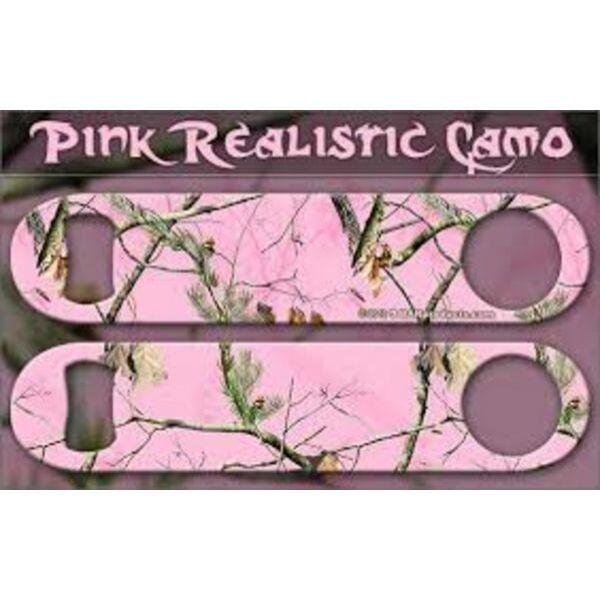 Flair nyitó Realistic Camo Pink