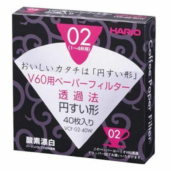 Hario V60 02 filterpapír 40db/cs