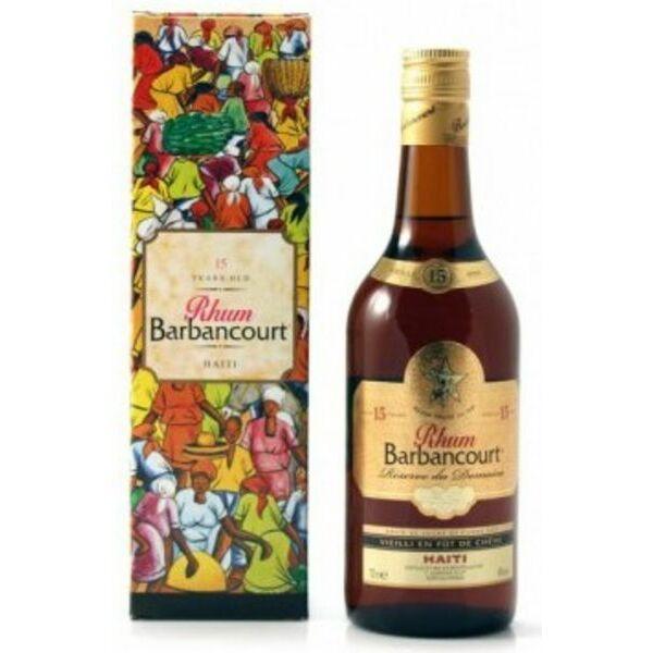 Barbancourt 15 years rum pdd. 0,7L 43%
