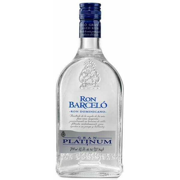 Barcelo Gran Platinum rum 0,7L 37,5%