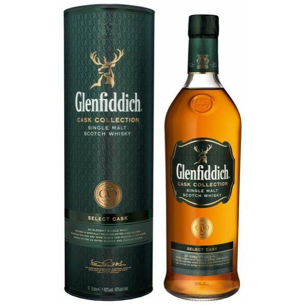 Glenfiddich Select Cask Collection whisky dd. 1L 40%