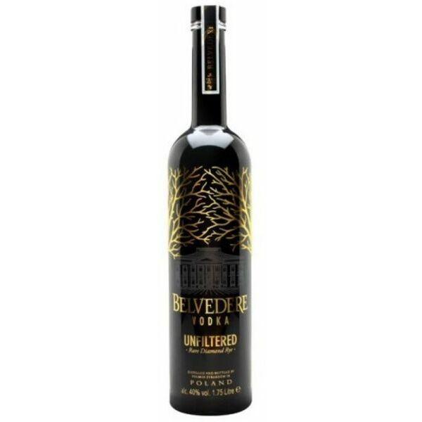Belvedere Unfiltered Rare Diamond Rye Vodka 1,75L 40%