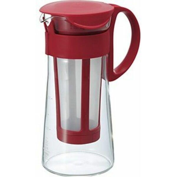 Hario Mizudashi hideg-filterkávé készítő 0,6L piros