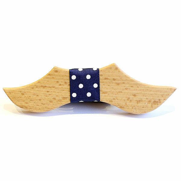 Fa csokornyakkendő Mustache