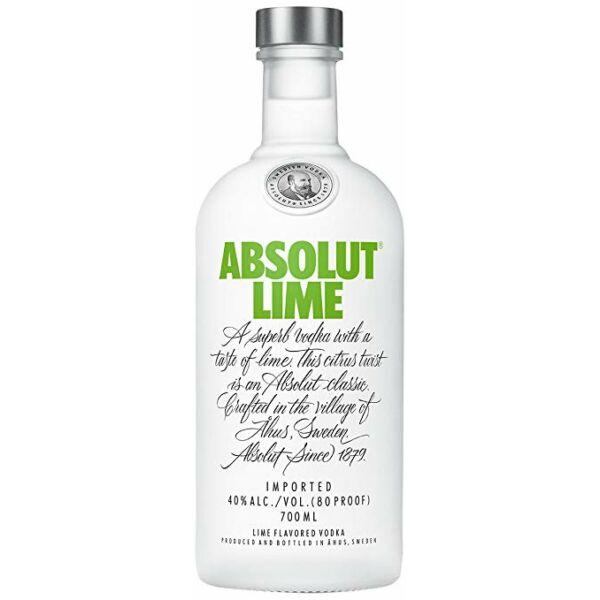Absolut Vodka Lime 0,7 40%