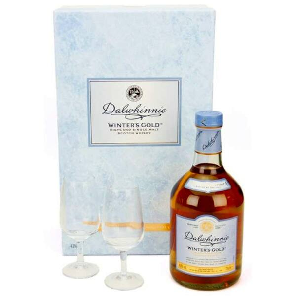 Dalwhinnie Winter's Gold 43% dd.+ 2 pohár 0,7