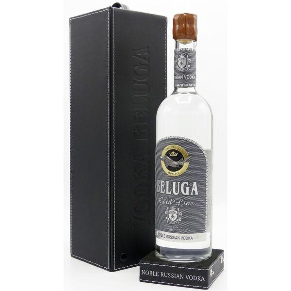 Beluga Gold Line Vodka 0,7L 40% bőr dd.