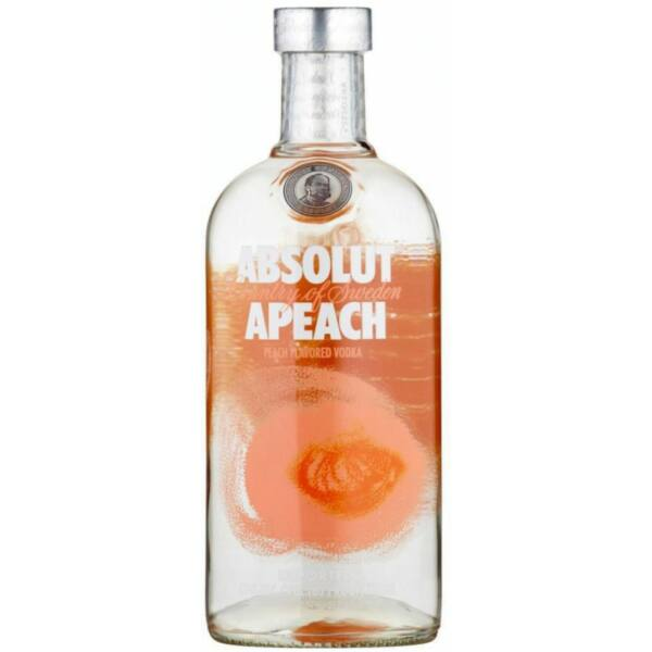 Absolut Vodka Apeach 1L 40%