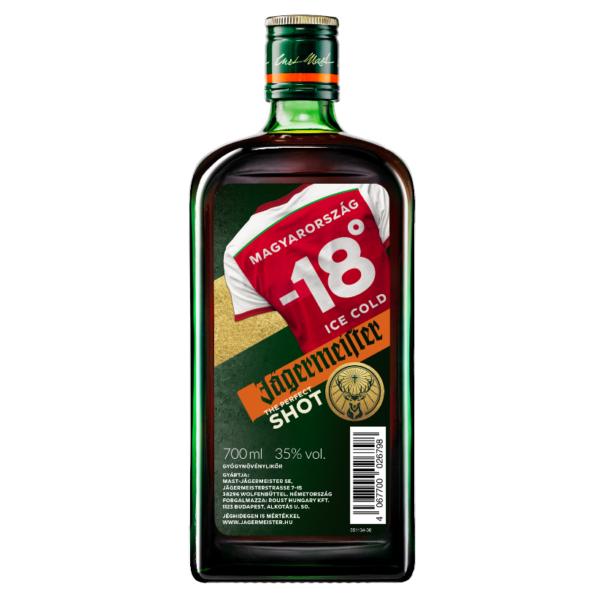 Jägermeister limitált szurkolói kiadás 0,7L 35%