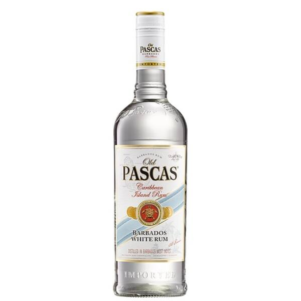 Old Pascas White rum 37,5% 1lit