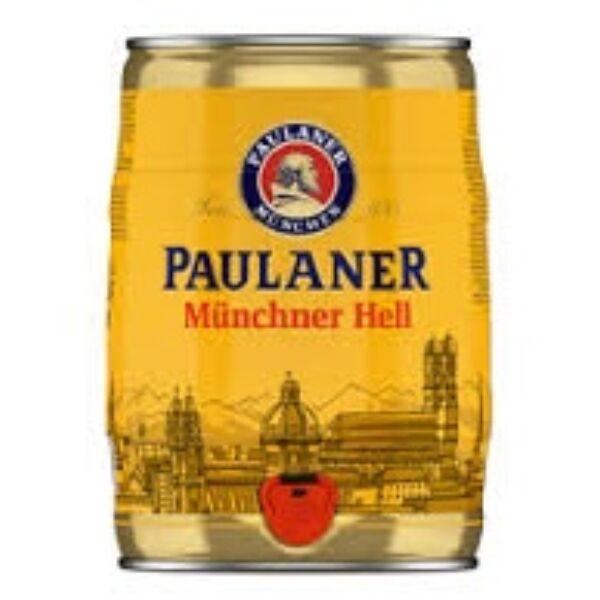 Paulaner Münchner Hell világos sör partyhordó 4,9% 5lit