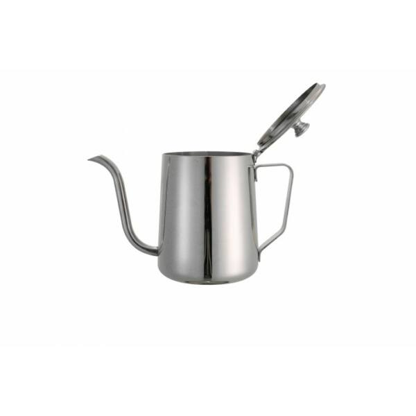 Drip Kettle kávéskanna tetővel inox 0,6L