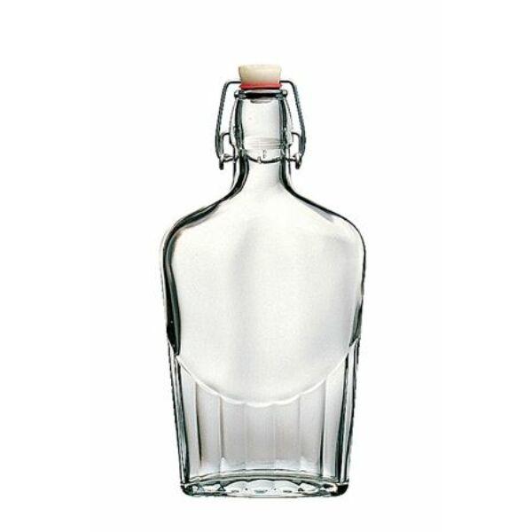 Lapos csatos üveg 0,25L