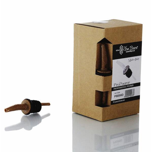 The Bars fa hatású pro pour kiöntő dugó műanyag lamellákkal 12db/doboz