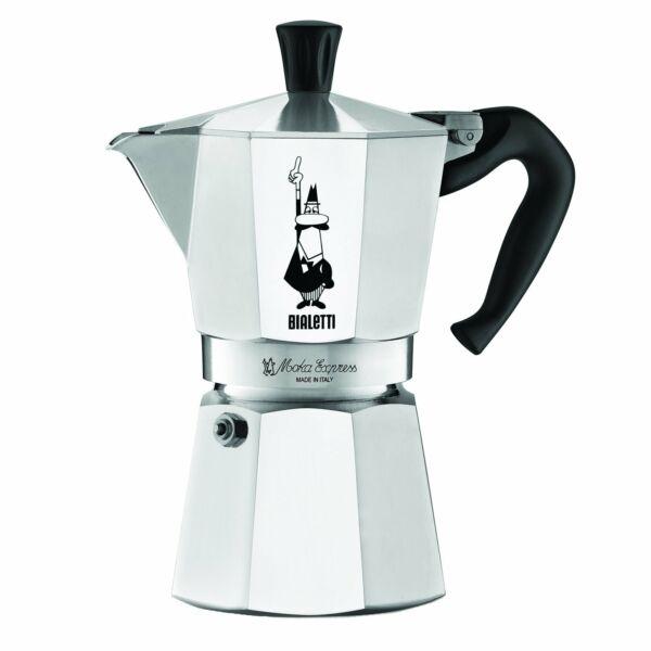 Bialetti moka expressz alumínium kotyogós kávéfőző 6 személyes